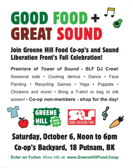 Greene Hill Co-Op Fall Celebration!