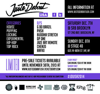 Juste Debout USA Finals. Dec 7-8. 2013.