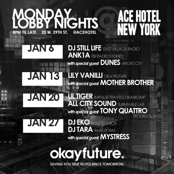 Monday Lobby Nights @ Ace Hotel
